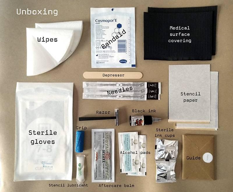 Stick and poke tattoo kit - Product Review